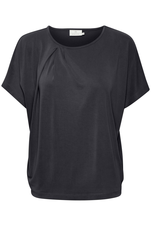 Kaffe Liffa T-shirt, modal, sort
