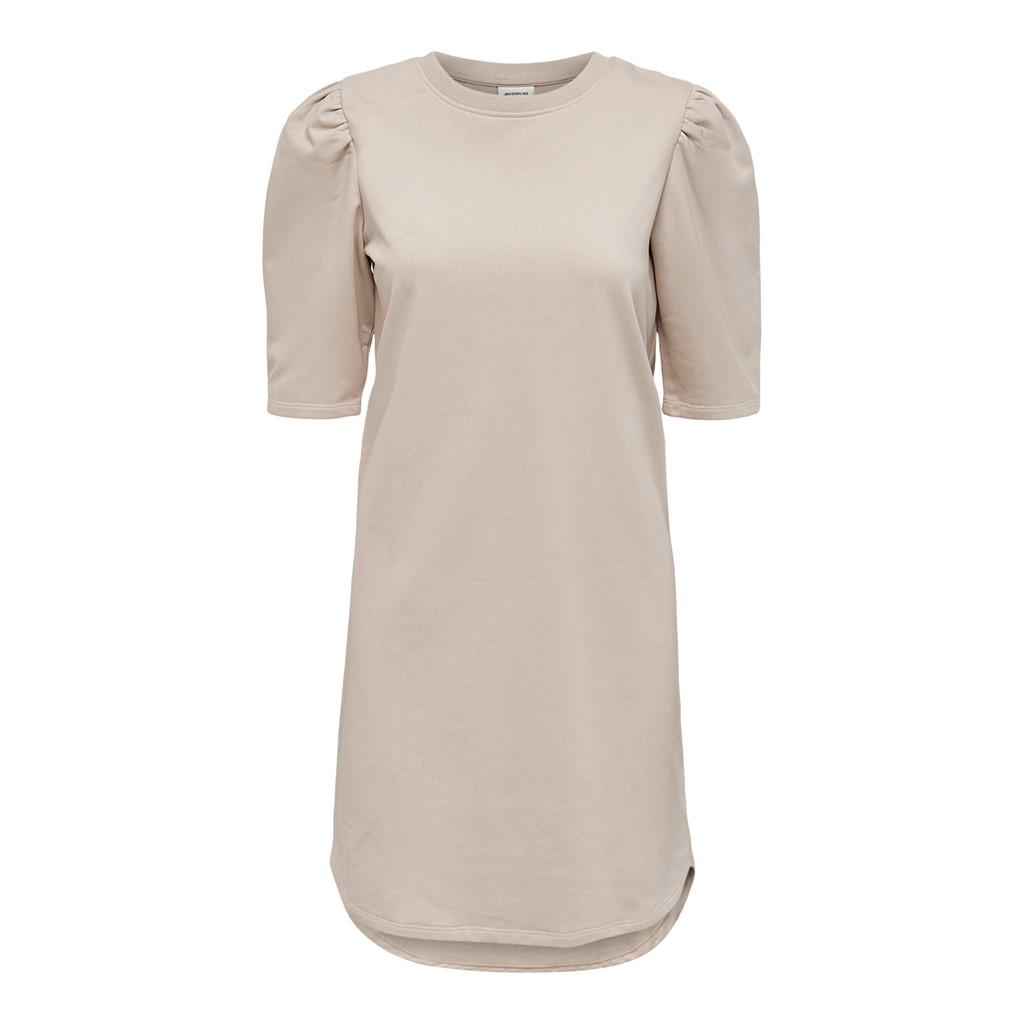 Jacquelin de Yong Bine Ivey Life, jersy kjole, beige