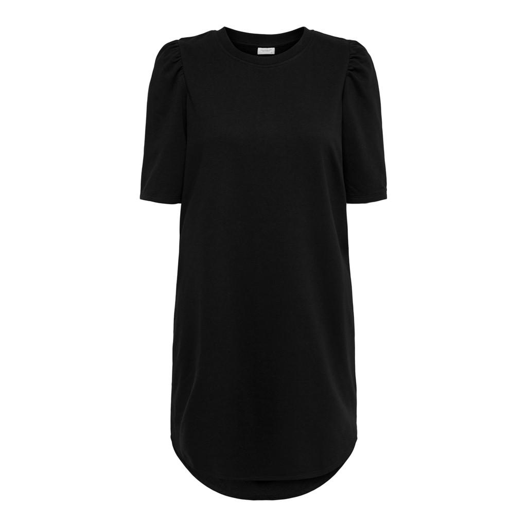 Jacqueline de Yong Bine Ivy Life, jersy kjole, sort
