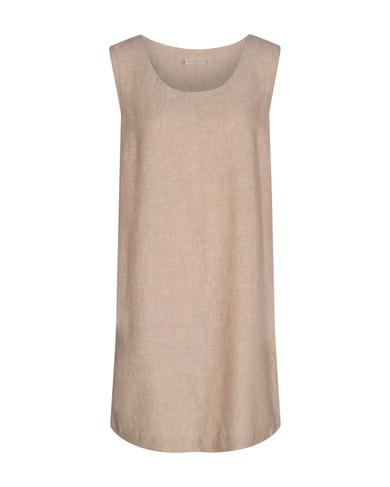 Freequent Lavara Lin kjole, beige