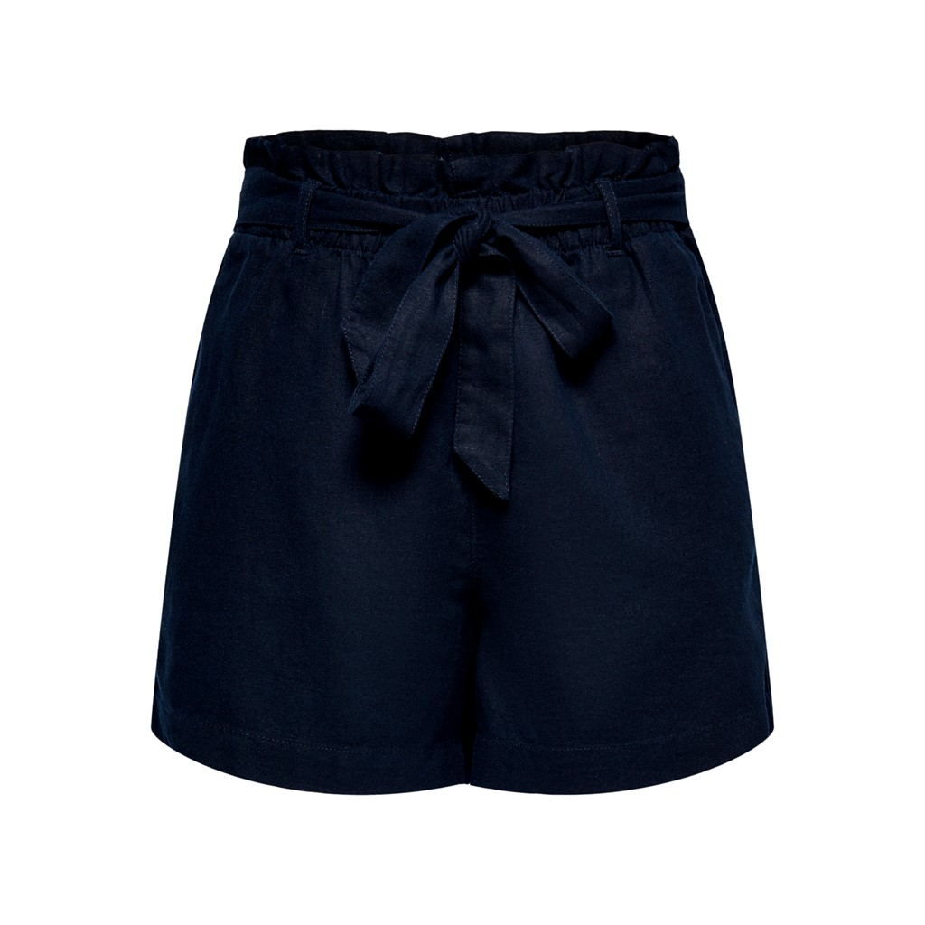 Jacqueline Say MW linen shorts, sky captain