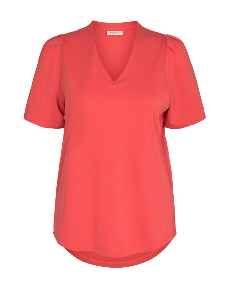 Freequent Yr Ballon, rød T-skjorte