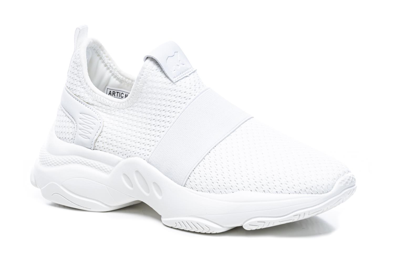 Artic North strikk sko, hvit