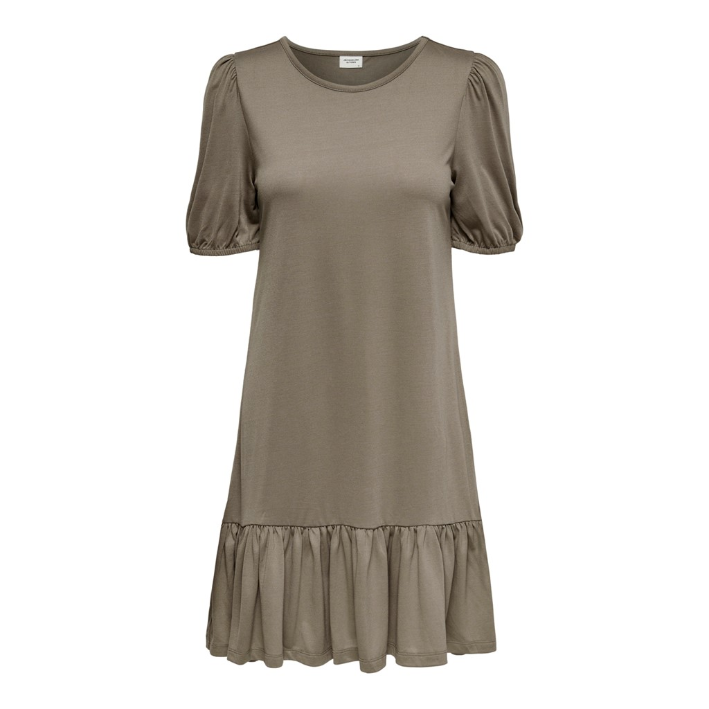 Jacqueline de Young Urban Gabriella s/s dress jrs, toasted coconut