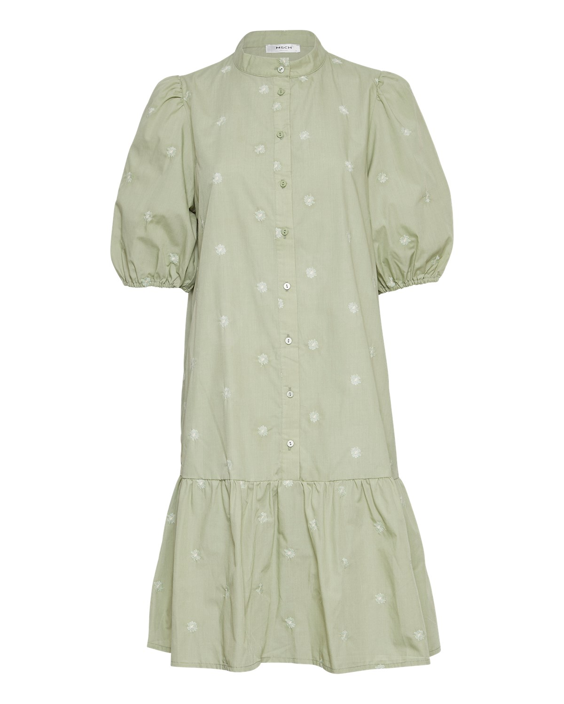 MSCH Nona shirt dress, reseda