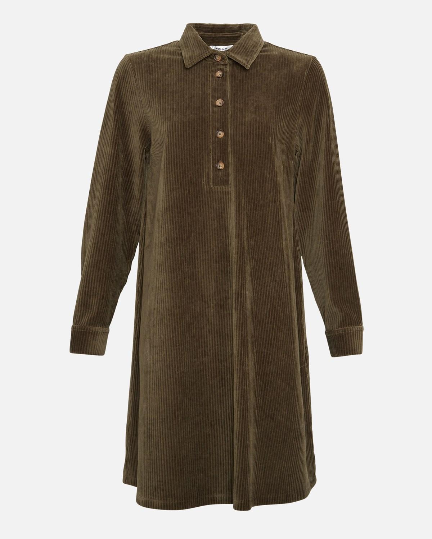 MSCH Ane Florina LS dress, grape leaf