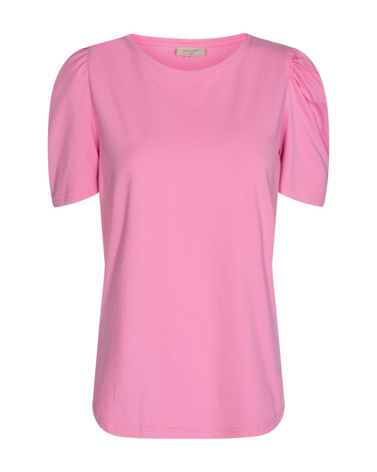 Freequent Lips Tee, rosa