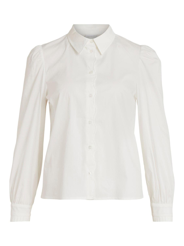 Vila Gima L/S shirt, cloud dancer