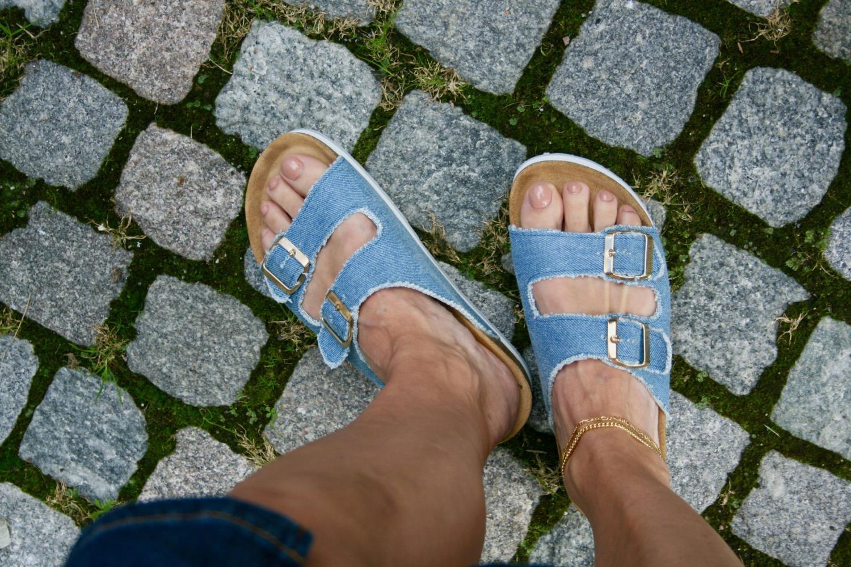Orginalsin Emily, denim sandal