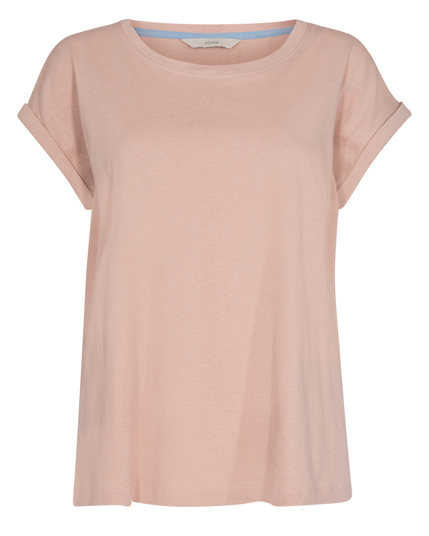 Nümph Brenna T-shirt, lys rosa