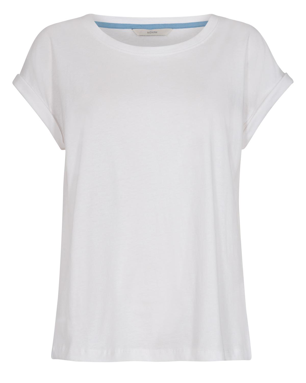 Nümph Brenna T-shirt, hvit