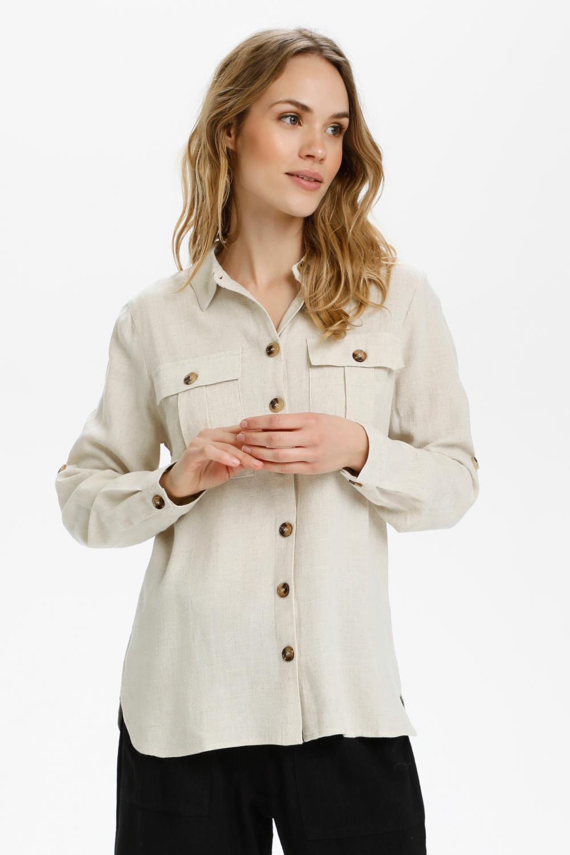 Kaffe Liny Shirt, linfarget