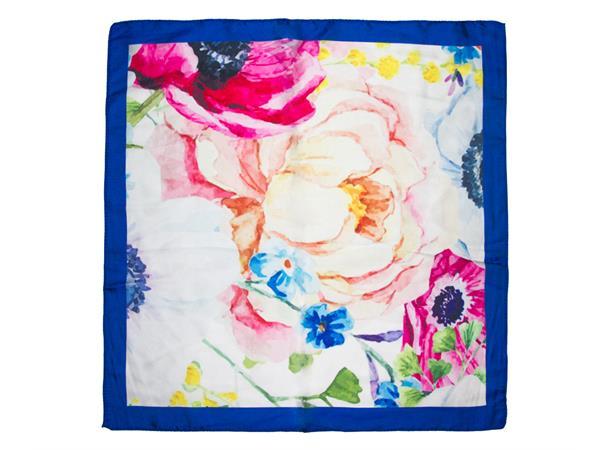 Intex Skjerf blomster, blå