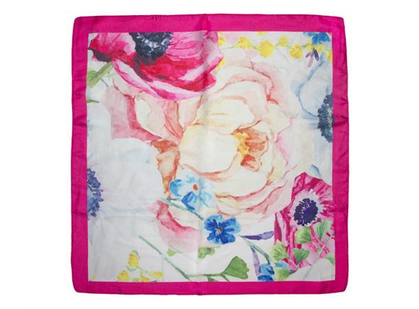 Intex Scandia Skjerf blomster, rosa