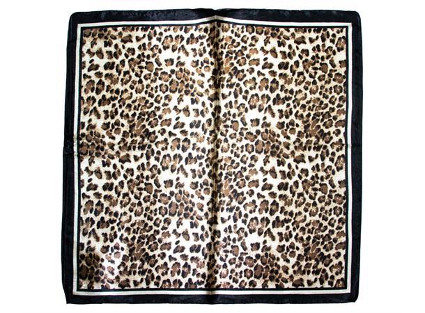 Intex Scandia skjerf dyreprint, sort