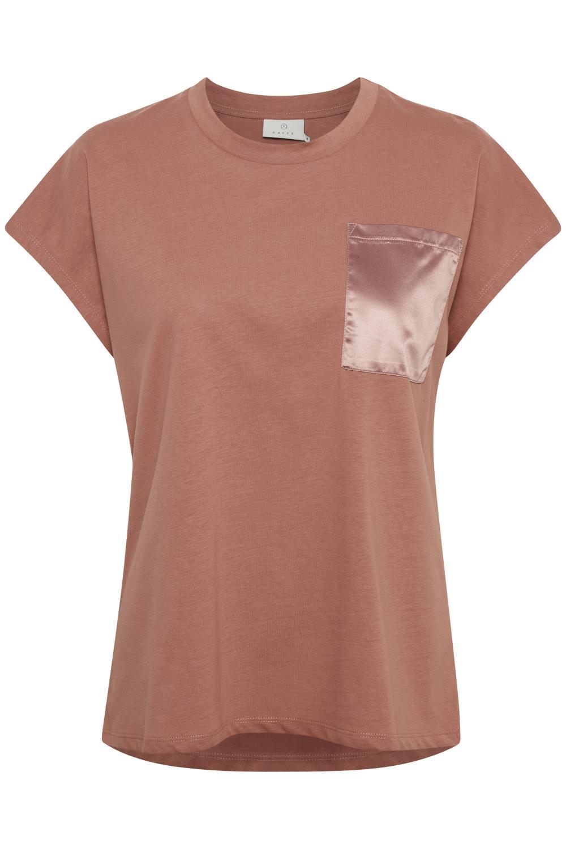 Kaffe Blanca T-shirt SS, russet