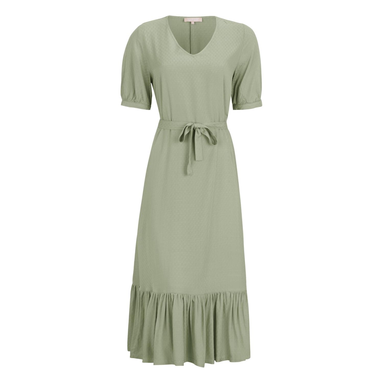 Soft Rebels Janna Midi Dress, lysgrønnd