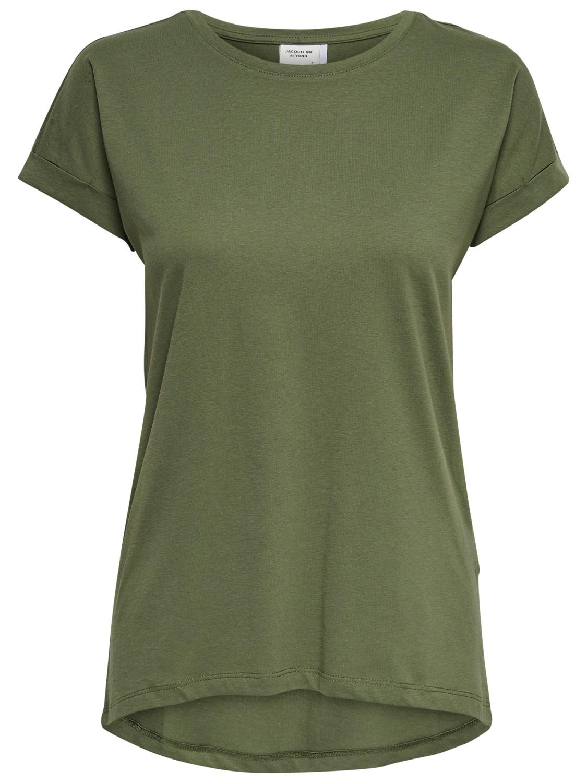 Jacqueline de Young Louisa s/s top, kalamata/grønn