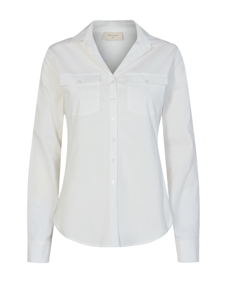 Freequent Jeanett Shirt, offwhite