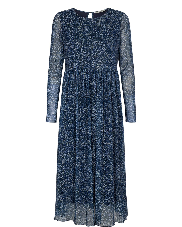 Nümph Ferja Dress, blå mønstret