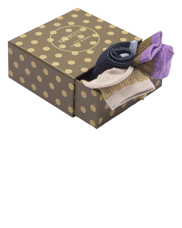 Nümph Checky 3-pack Socks
