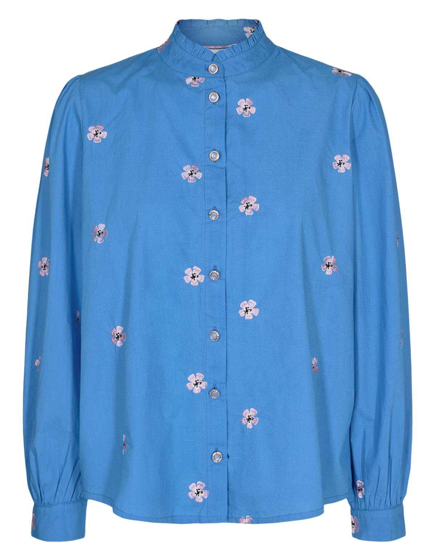 Nümph Cliona blouse, ultramarine