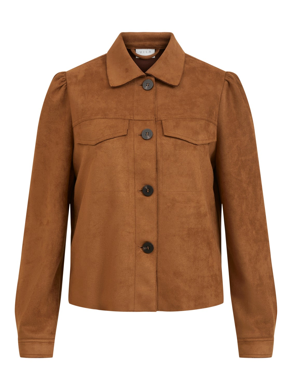 Vila Ghita new short jacket, oak brown