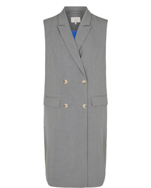 Nümph Caro Waistcoat, lys grå