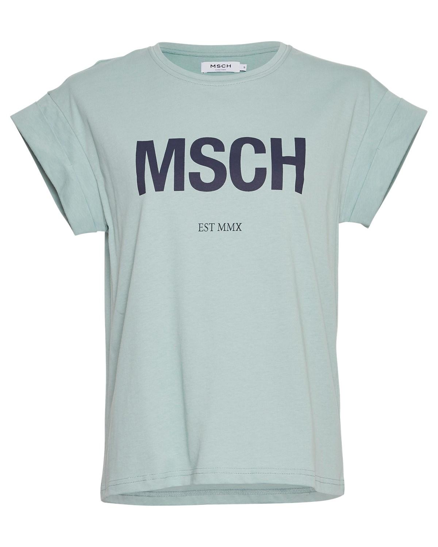 Moss Copenhagen Alve MSCH t-shirt, sjøgrønn