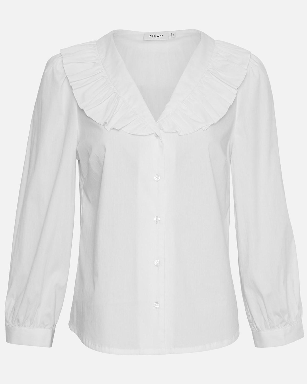 Moss Copenhagen Brisa Ava Shirt, hvit