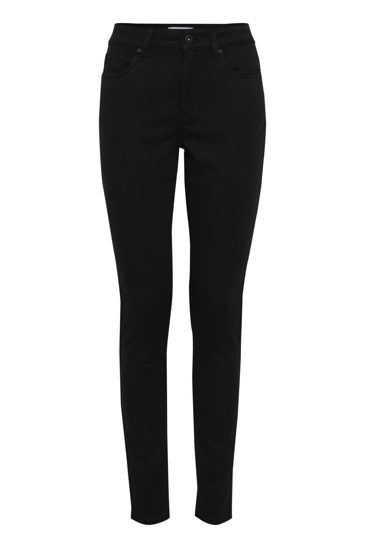 Pulz Emma jeans super skinny, sort