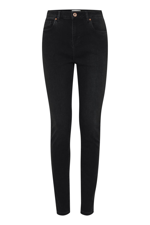 Pulz Liva jeans super skinny high waist, denimsort