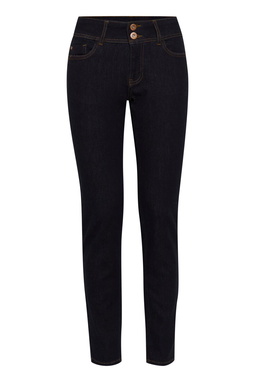 Pulz Suzy Jeans, Skinny leg, Raw blue