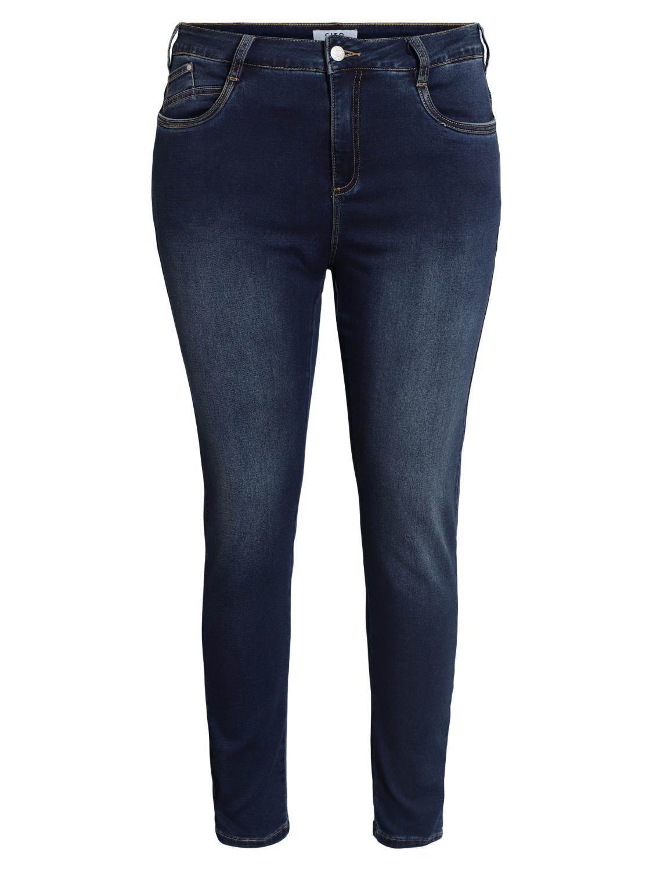 Ciso Jeans 7/8 lengde, denimblå