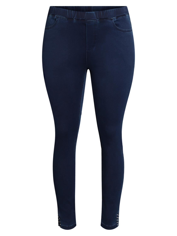 Ciso Jeans 7/8 stretch pant, denimblå