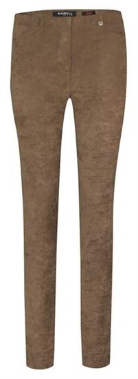 Robell Semsket leggings, brun