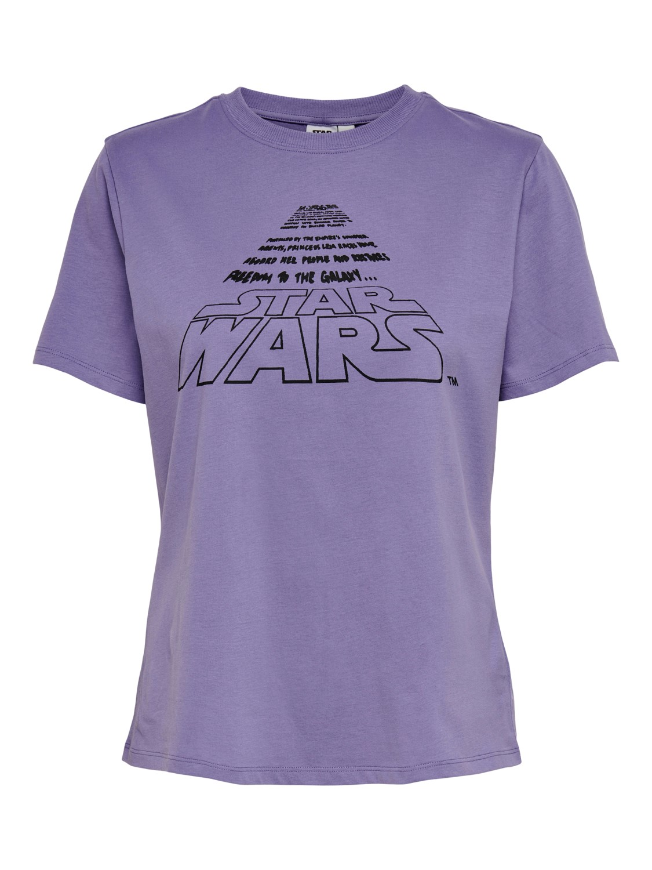 Jacquelin de Yong Star Wars T-shirt, lilla