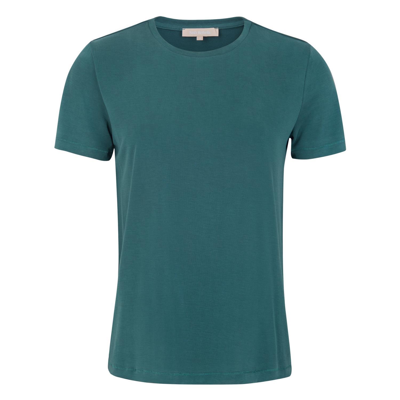 SoftRebels Ella T-shirt, flaskegrønn