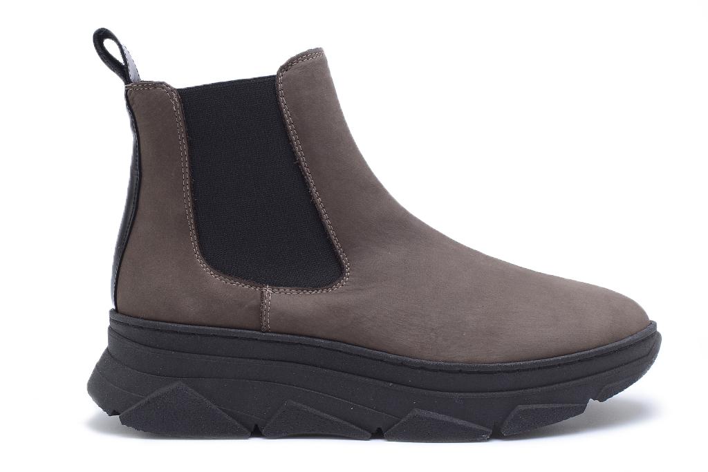 KMB Shoes Lyon Brown, semsket skolett