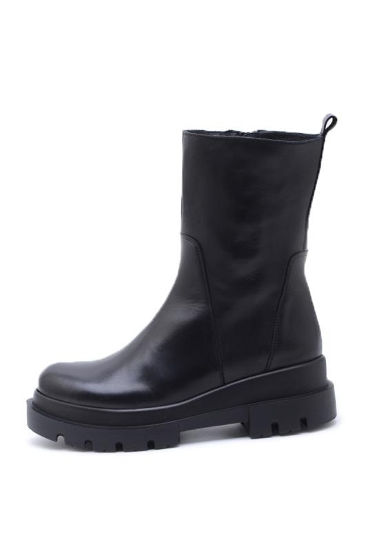 KMB Shoes Napa Negro, sort boots