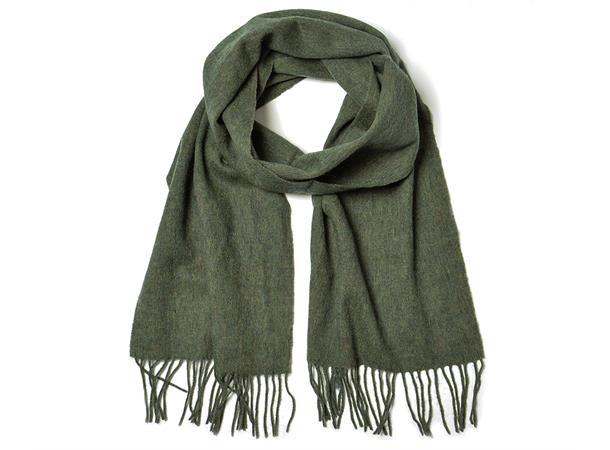 Intex Skandia ull skjerf, grønn