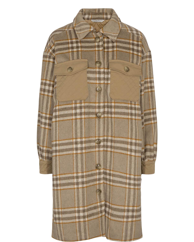 Nümph Corin Jacket, brun rutet