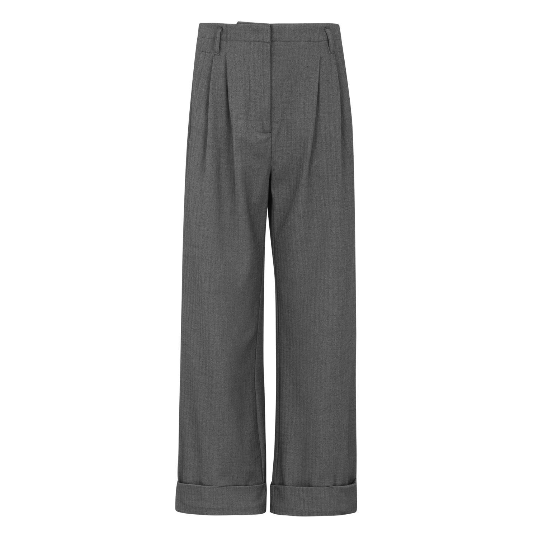 Soft Rebels SRAda pants, vide bukser, grå