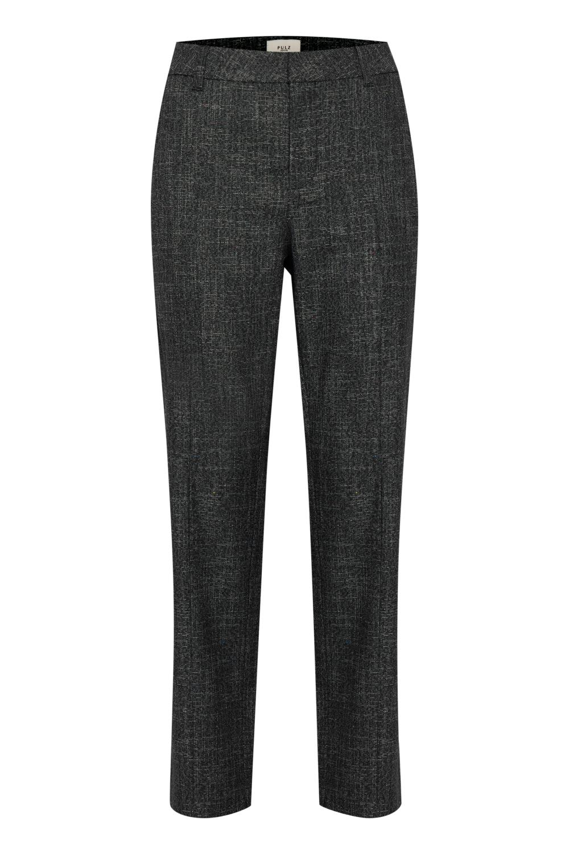 Pulz Catja Pant Regular Leg, melert bukse