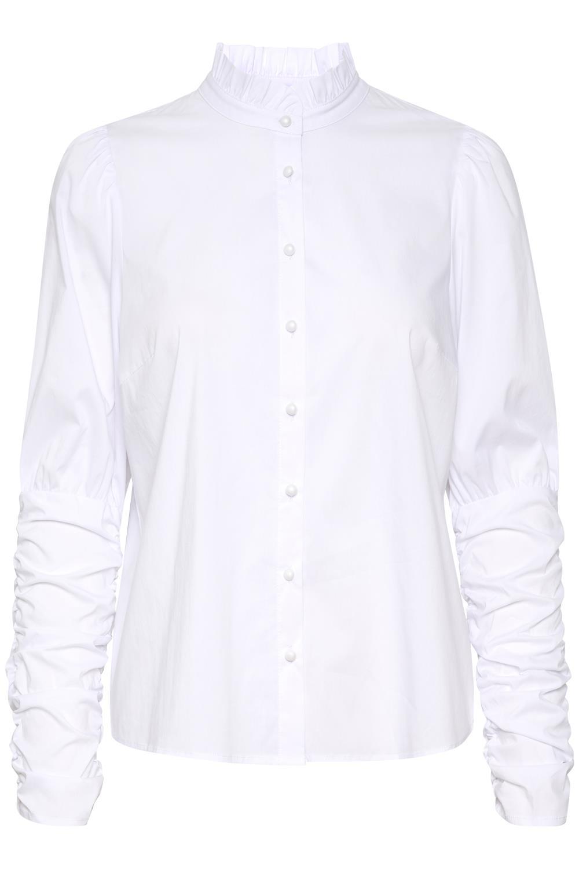 Kaffe Vinnie Shirt Blouse, hvit skjorte
