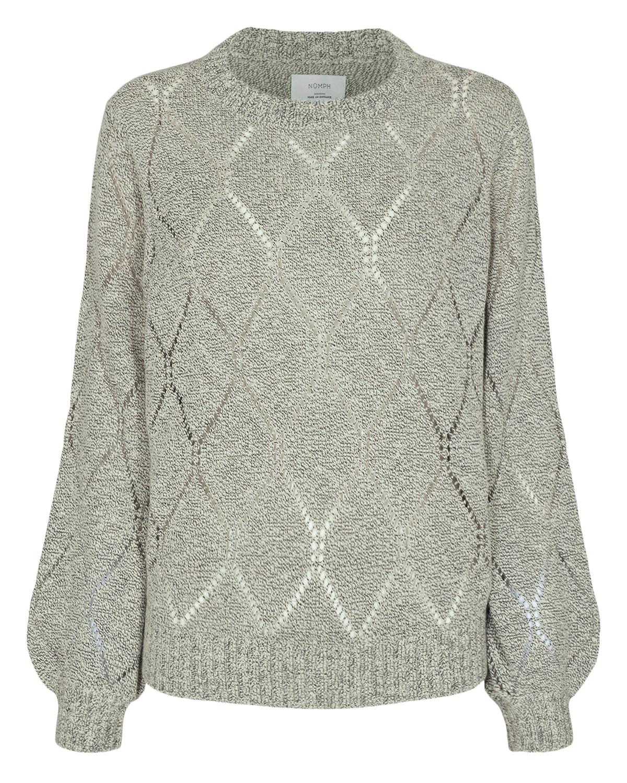 Nümph Chanson Pullover, melert genser