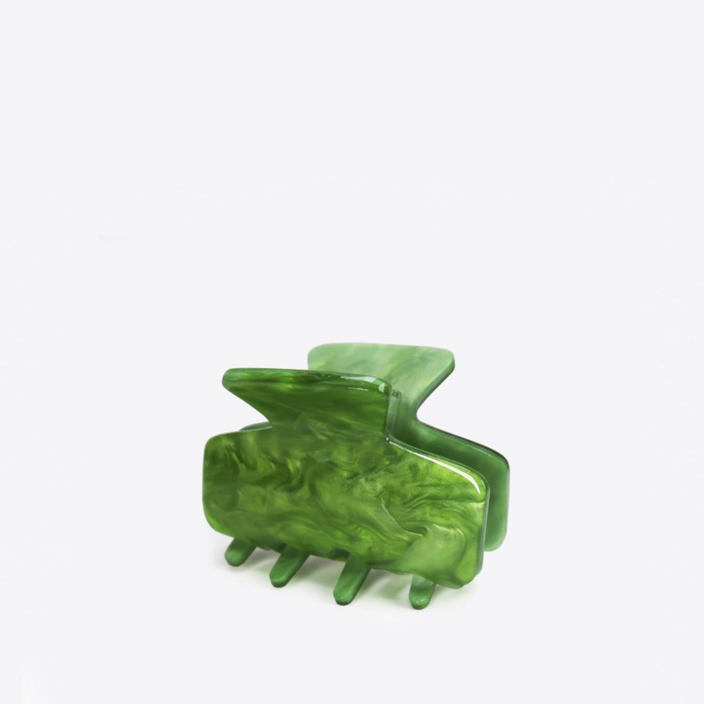 Sistie Ava hårklemme, grønn