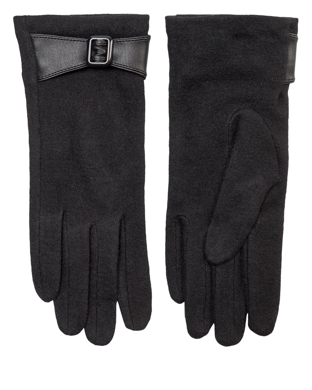 Nümph Blackie Wool Glove, sort ull hanske