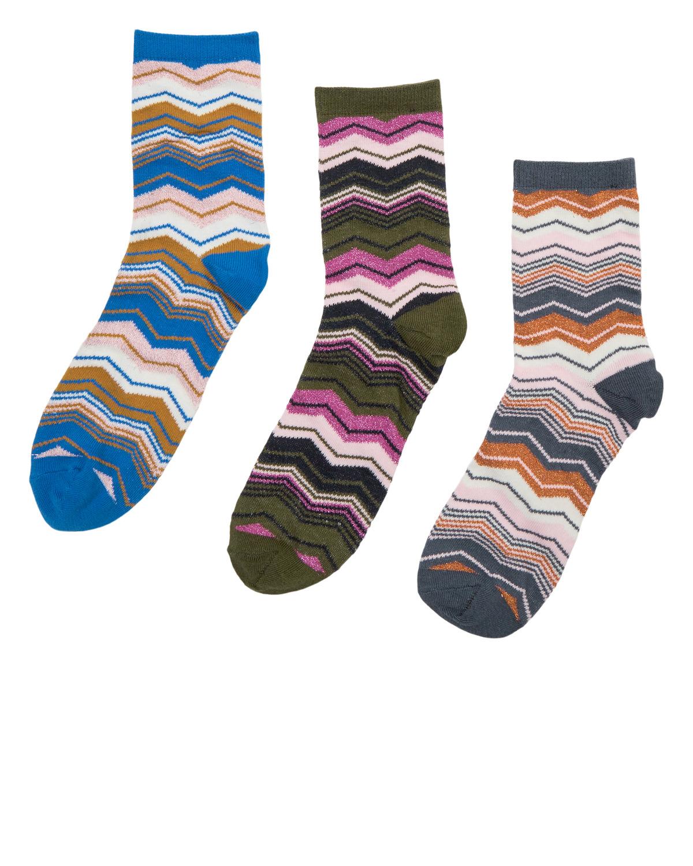 Nümph Massimo 3-pk sokker, mønstret