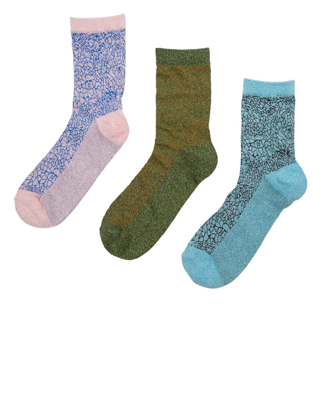 Nümph Marble 3-pk sokker